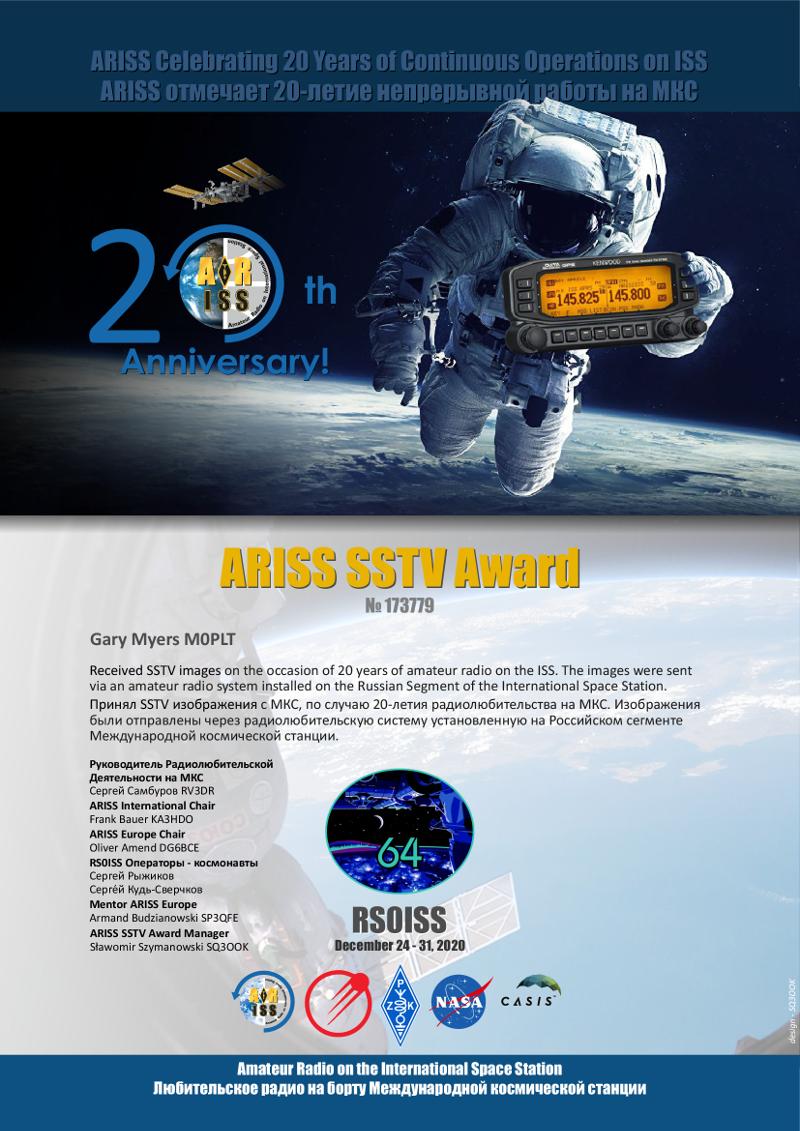 ARISS Award