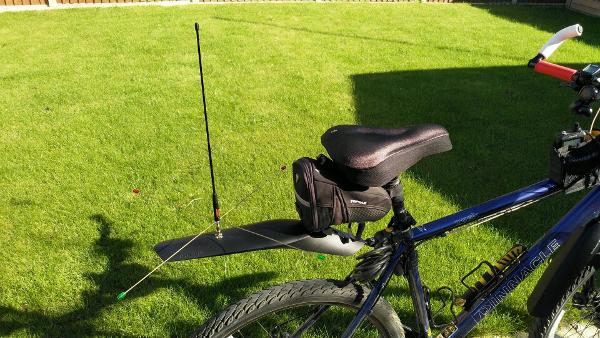 Mountain Bike Mobile aerial