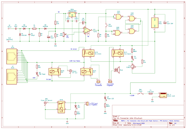 4m Transverter Idiot Circuit